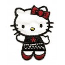 ecusson-hello-kitty-habit-noir-et-rouge-thermocollant