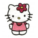 ecusson-hello-kitty-habit-rose-thermocollant