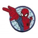 ecusson-ultimate-spider-man-rond-thermocollant